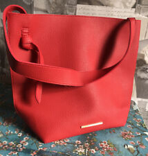 BNWT French connection Red Leather Tote Bag