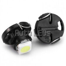 1 White SMD LED T4.7 Neo Wedge 12v Interior LED Bulb