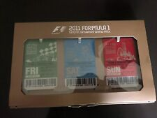 F1 Formula One lanyard and 3 day ticket set 2011 Grand Prix Singapore