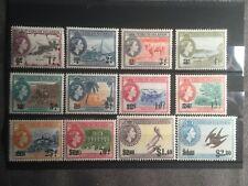 SCOTT #128-139 1962 VIRGIN ISLANDS STAMPS MNH