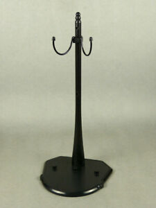1/6 Scale Phicen, TBLeague, Hot Toys - Black Color Figure Stand w/ 2 Type Clips