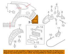MAZDA OEM 16-18 CX-9 QUARTER PANEL-Lower Extension Left TK48714A1