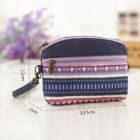 Organiser Coin Purse Card Wallet Short Clutch Pouch PU Leather Wallet Pockets