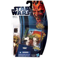 2012 Star Wars Clone Wars Animated Series Yoda Action Figure