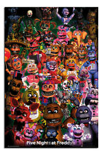 LAMINATED Five Night's At Freddy's POSTER Ultimate Group Officially Licensed