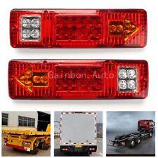 19 LED Brake Turn Signal Amber Taillight for RV ATV Trailer Truck UTV Motorcycle