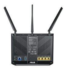 DSL AC68U Modem Router Wireless AC1900 Mbps Dual Band VDSL/ADSL 2+Gigabit