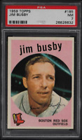 1959 Topps Jim Busby #185 PSA 7 NRMT