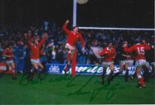 Wales Hand Signed Paul Thorburn 6X4 Photo Rugby Union.