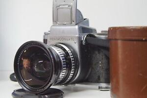 Pentacon six TL+Flektogon 4/50 ZEBRA. Legendary Medium Format Camera 6x6.