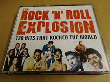 6-CD BOX / THE ROCK 'N' ROLL EXPLOSION - 120 HITS THAT ROCKED THE WORLD