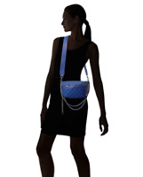 Steve Madden Quilted Faux Leather Fanny Pack - Blue 68.00