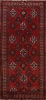 Traditional Semi Antique Geometric Area Rug Wool Handmade Oriental Carpet 5x10