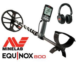 Minelab Equinox 800 Metalldetektor, ca. 3 mal eingesetzt, wie neu