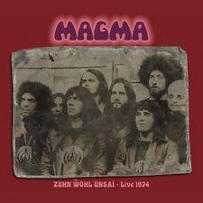 MAGMA - ZÜHN WÖHL ÜNSAI-LIVE 1974 2 CD NEU