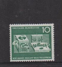 Germania OVEST Gomma integra, non linguellato TIMBRO Deutsche Bundespost 1961 apparecchi telefonici SG 1287