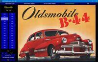 Oldsmobile Sales Brochures 1940 - 1969 digital collection on DVD-ROM