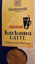 goldene Milch Mischung SONNENTOR - BIO Kurkuma Latte Ingwer  60g