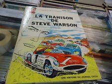 MICHEL VAILLANT  LA TRAHISON DE STEVE WARSON   1968   GRATON