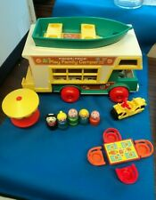 Vintage 1973 Fisher Price 994 Play Family Camper  Little People Great Condition!
