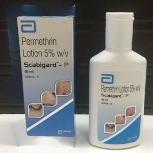 Permethrine Lotion 50ml For Scabies Pubic Lice similar Elimite