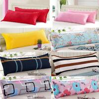 1.2/1.5M Couple Velvet Case Soft Long Body Pillow Cover Protector Pillowcase 1pc