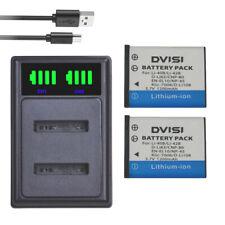 Li-40B42B Battery charger for Nikon EN-EL10 D-Li63 D-Li108 NP-80 CNP80 KLIC-7006
