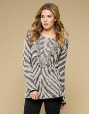 Cotton Blend Regular Thin Knit Jumpers & Cardigans for Women