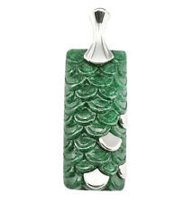 Women Jewelry Handcrafted Dragon Scale Pendant Necklace Gifts