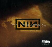 NINE INCH NAILS - LIVE : ALL THAT COULD HAVE BEEN CD ~ TRENT REZNOR ~ NIN *NEW*