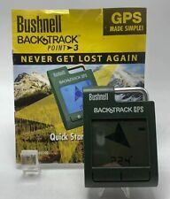 Bushnell BackTrack Point-3 Handheld Pocket Size GPS 360100 Fully Tested Nice
