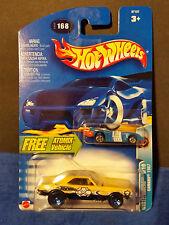 2003 HOT WHEELS w/ Atomix Vehicle #168  - Wastelanders 6/10 - Camaro 1967 :57157