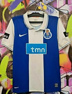 Porto FC Portugal 2009 2010 Home Football Shirt Soccer Jersey Nike Youth size M