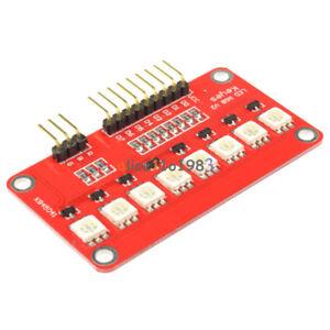 2PCS RGB LED Module LED SCM Printed Circuit Board Module 5050 for Arduino