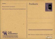 Deutsches Reich P312a/01 Amtliche Postkarte ungebraucht 1943 Hitler