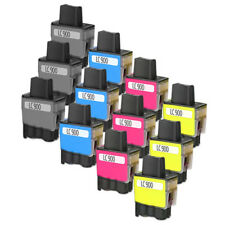 12 COMPATIBLES BROTHER 900BK LC900 DCP 310 110 120 MFC 215 410 610 FAX 1840 900