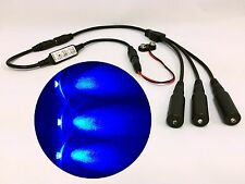 Micro Effects Light 3X blue LED & control flash blink 9V prop models MELKITB-5B