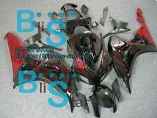 Flames Red INJECTION Fairing Kit Fit Honda CBR1000RR 2006-2007 42 A2