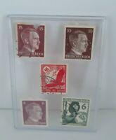 Germany WWII Hitler Stamps 1937 6 10 15 Nazi Germany History War World II USED