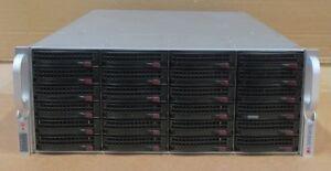 "Supermicro SuperChassis CSE-846 24x 3.5"" SAS/SATA X9DRi-LN4F+ CTO Storage Server"