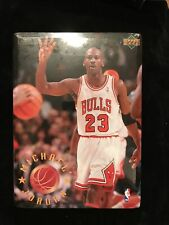 New listing Michael Jordan 8 x 11 metal photo with stand  Sealed Rare 1996 Upper Deck