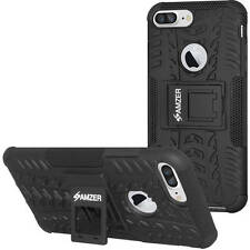 Amzer Hybrid Protector Case for Iphone 7 color - black