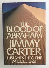 President Jimmy Carter SIGNED hardcover book The Blood of Abraham Autograph