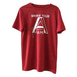NWT Reebok Graphic Red Boys Tee Shirt Bring your A Game Size XL