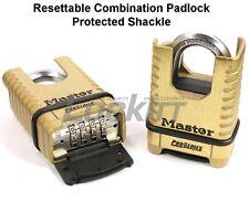 "Masterlock 1177 Combination padlock ProSeries 3/8"" Protected shackle"