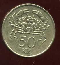 ISLANDE 50 kronur     1992        ANM  ( bis )