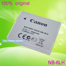 2 X Genuine Original Canon NB-6LH NB-6L Battery for Canon SX510 SX170 S200HS