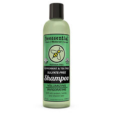 Beessential All Natural Peppermint and Tea Tree Volumizing Shampoo