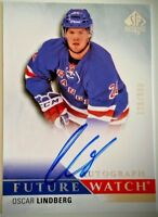 2015-16 SP Authentic Future Watch #275 Oscar Lindberg AUTO 120/999 RC