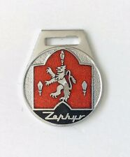 Ford Zephyr Vintage Key Fob Keyring Car Badge 1960s Melsom Birmingham